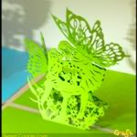Papercraft, Origami, Kirigami, Quilling, Pop-Up Card, Pattern, Kit ... 3632245731_f3e745fba6_o