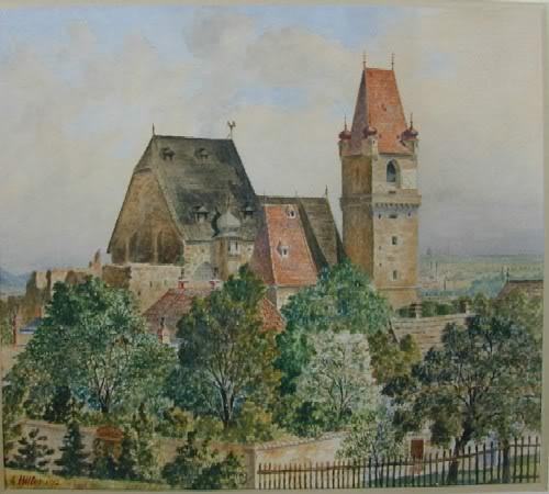 Pinturas realizadas por Adolf Hitler Hitler010