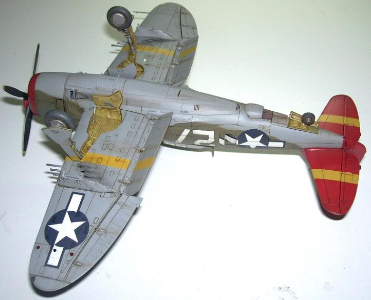 P-47D Razorback 332nd FG Red Tail P-47DRedTail10
