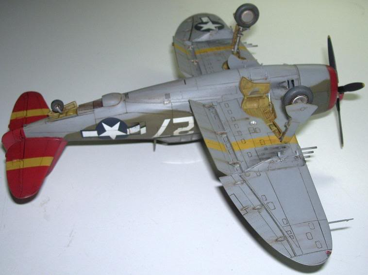 P-47D Razorback 332nd FG Red Tail P-47DRedTail11