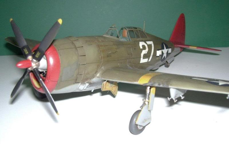P-47D Razorback 332nd FG Red Tail P-47DRedTail2