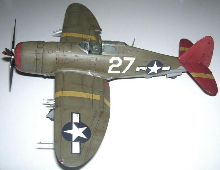 P-47D Razorback 332nd FG Red Tail P-47DRedTail3