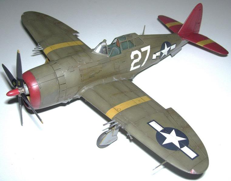 P-47D Razorback 332nd FG Red Tail P-47DRedTail4