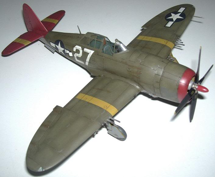 P-47D Razorback 332nd FG Red Tail P-47DRedTail5
