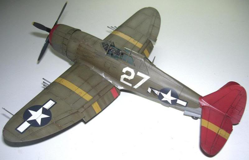 P-47D Razorback 332nd FG Red Tail P-47DRedTail7