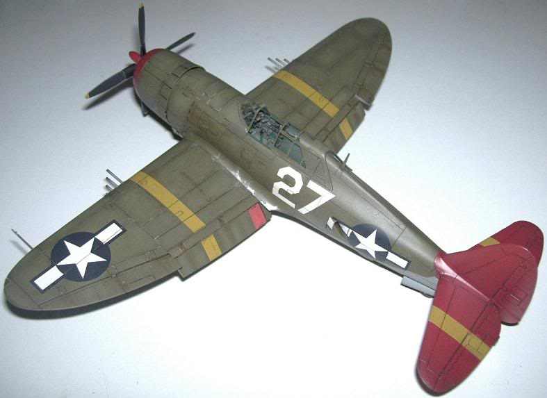 P-47D Razorback 332nd FG Red Tail P-47DRedTail8