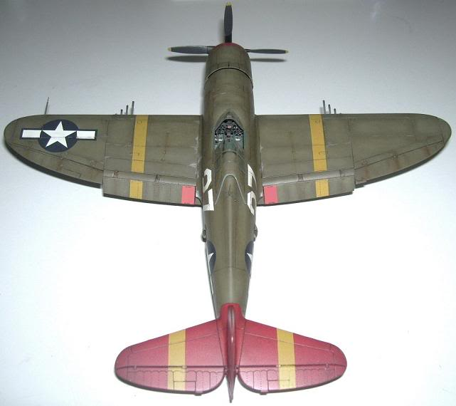 P-47D Razorback 332nd FG Red Tail P-47DRedTail9