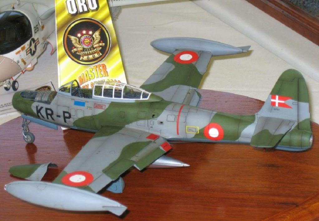 Tamiya 1/48 F-84G Thunderjet Dannish Air Force. RepublicF-84GThunderjet3