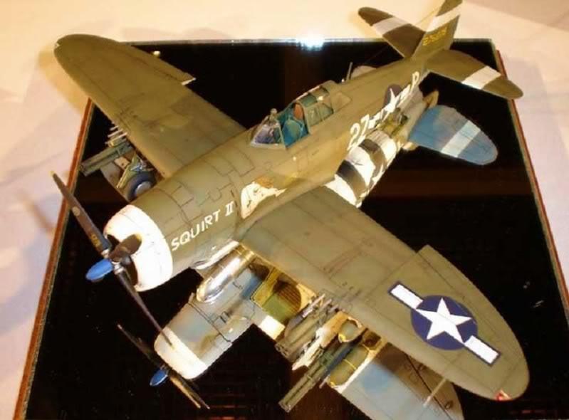 P-47D Razorback Tamiya 1/48 RepuplicP-47DThunderbolt