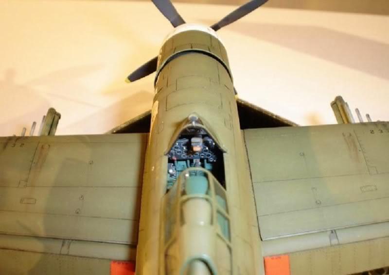 P-47D Razorback Tamiya 1/48 RepuplicP-47DThunderbolt2