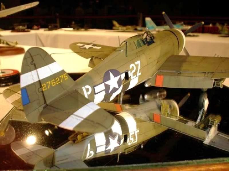 P-47D Razorback Tamiya 1/48 RepuplicP-47DThunderbolt3
