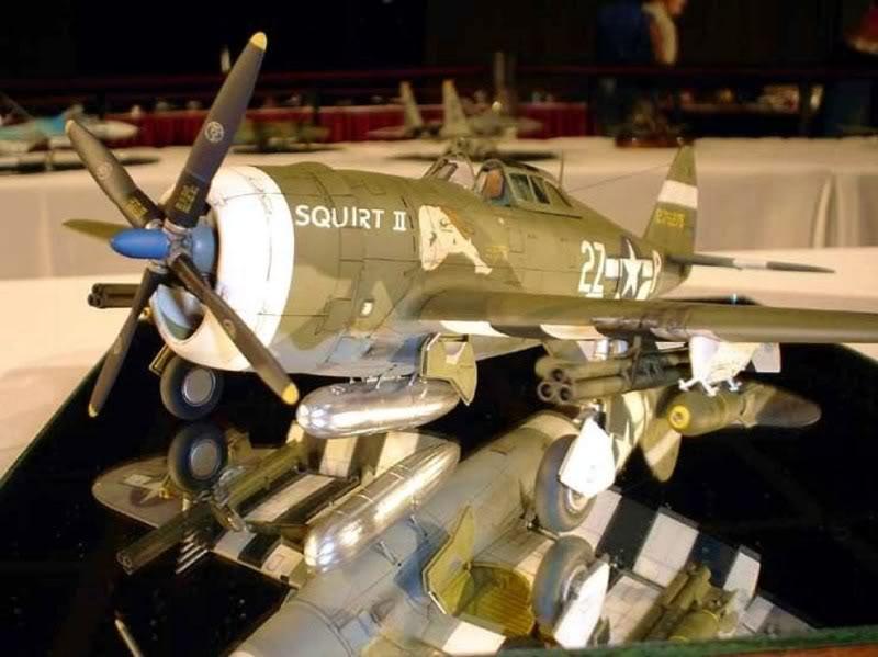 P-47D Razorback Tamiya 1/48 RepuplicP-47DThunderbolt4