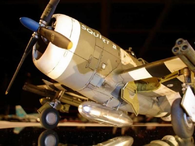 P-47D Razorback Tamiya 1/48 RepuplicP-47DThunderbolt6