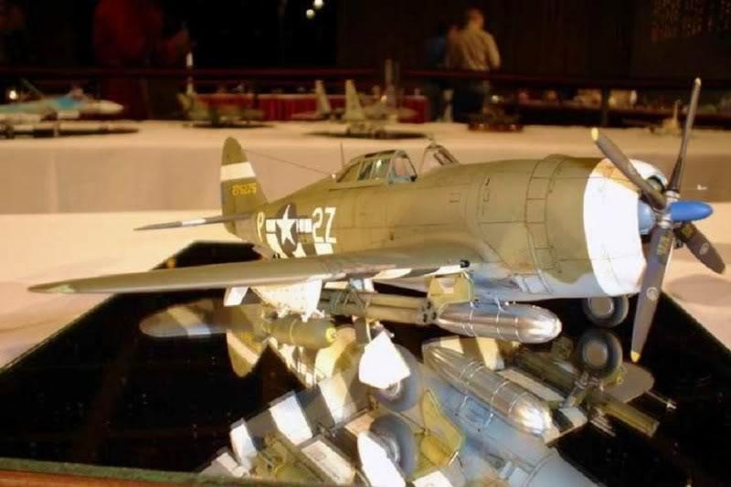 P-47D Razorback Tamiya 1/48 RepuplicP-47DThunderbolt7