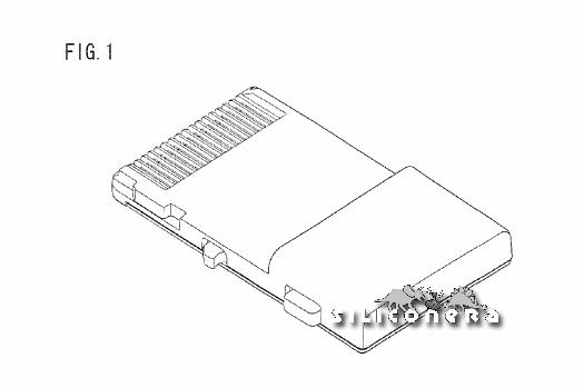 Nintendo patenta nuevo Cartridge para DS Cart1
