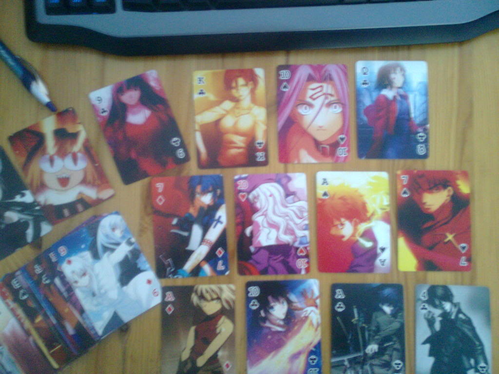 Type Moon Playing Cards Image0077