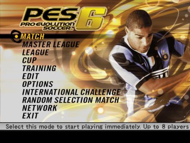 لعبه Pes 2006 مضغوطه بحجم 325 ميجا برابط واحد  Pes6
