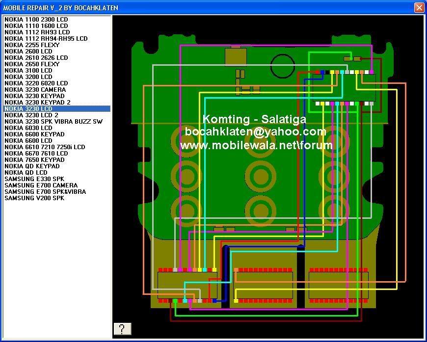 nokia 3230 solution 323020Jalur20UI20LCD