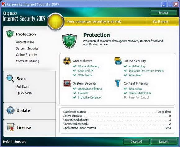 Kaspersky Internet Security 2009 with KEYS 2ewmwp5