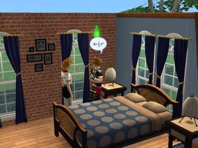 The Sims 2 Kingdom Hearts styleh >8=D 01-2