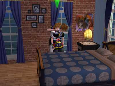 The Sims 2 Kingdom Hearts styleh >8=D 02