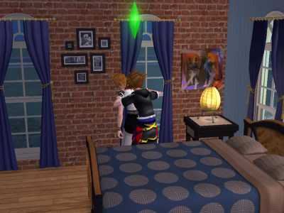 The Sims 2 Kingdom Hearts styleh >8=D 03