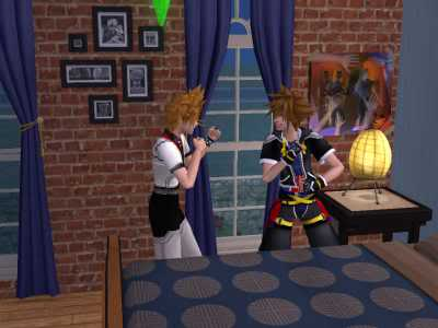The Sims 2 Kingdom Hearts styleh >8=D 04