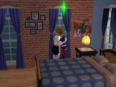 The Sims 2 Kingdom Hearts styleh >8=D 05