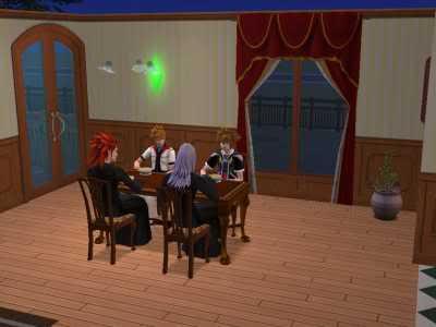 The Sims 2 Kingdom Hearts styleh >8=D 07