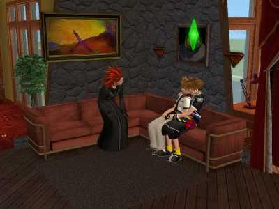 The Sims 2 Kingdom Hearts styleh >8=D 09