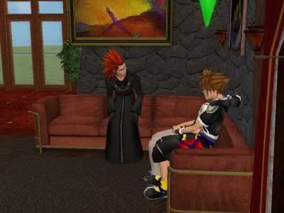 The Sims 2 Kingdom Hearts styleh >8=D 10