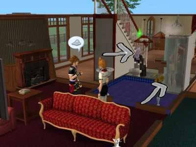The Sims 2 Kingdom Hearts styleh >8=D Bg02copy
