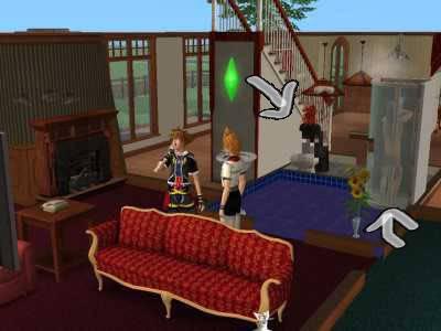 The Sims 2 Kingdom Hearts styleh >8=D Bgcopy