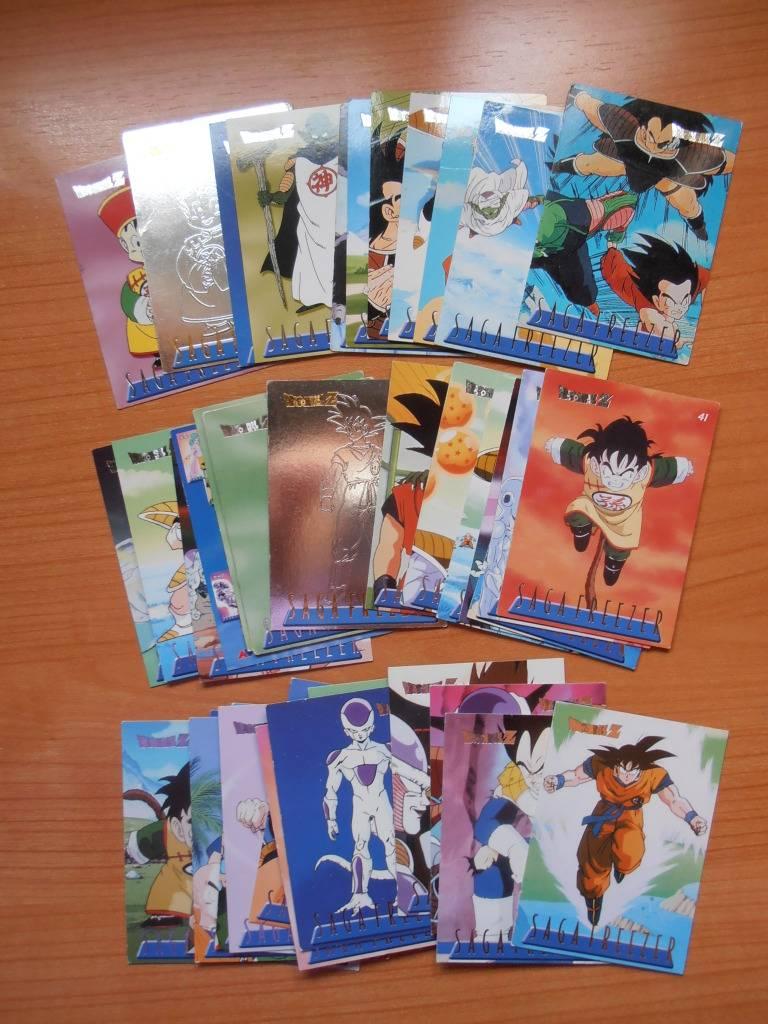 Intercambio Dragon Ball Z Cards Saga Freezer (alemana) Faltas/Repes P4220451