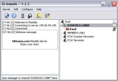 Mumble Voice Server Mumbleonline01