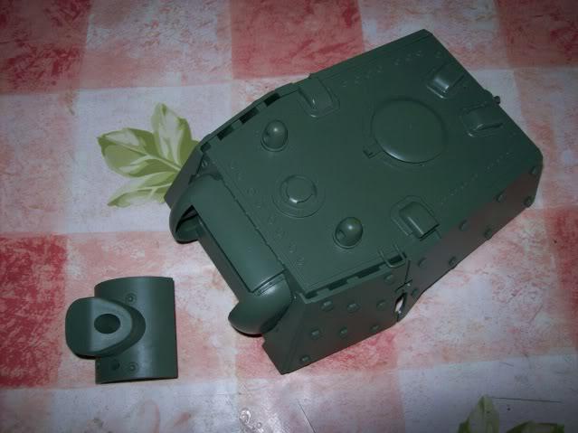 Prototipare una torretta KV1 - 1C KV11B001
