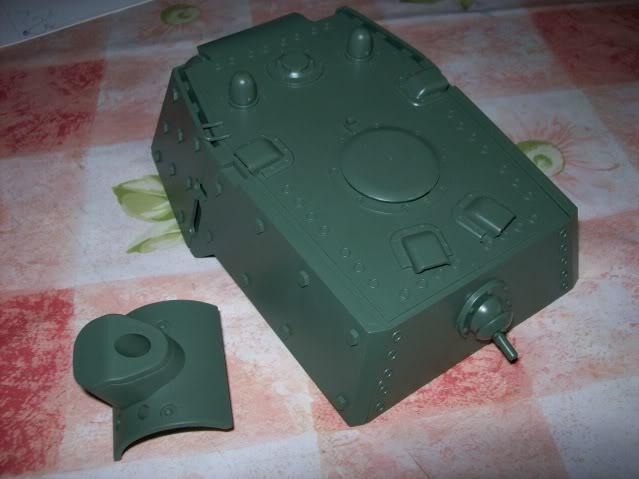 Prototipare una torretta KV1 - 1C KV11B003