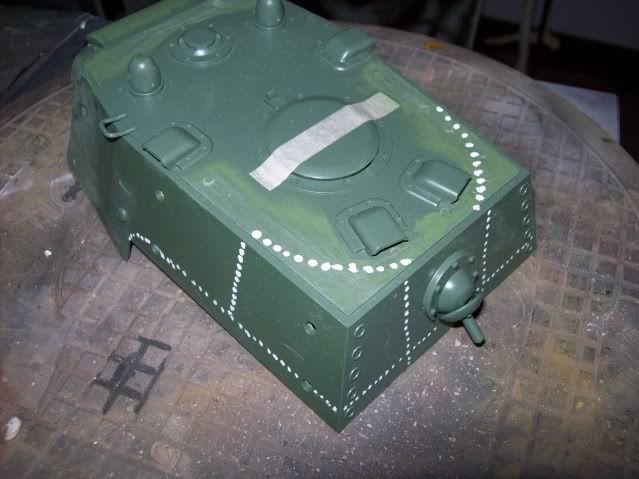 Prototipare una torretta KV1 - 1C KV11B004
