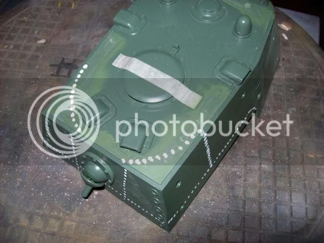 Prototipare una torretta KV1 - 1C KV11B005