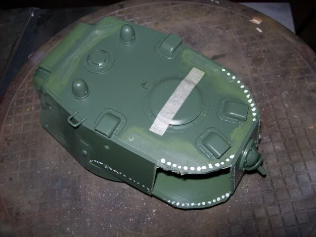 Prototipare una torretta KV1 - 1C KV11B006