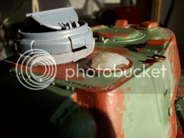 Prototipare una torretta KV1 - 1C KV11B008-1