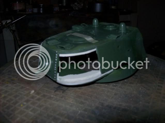 Prototipare una torretta KV1 - 1C KV11B011