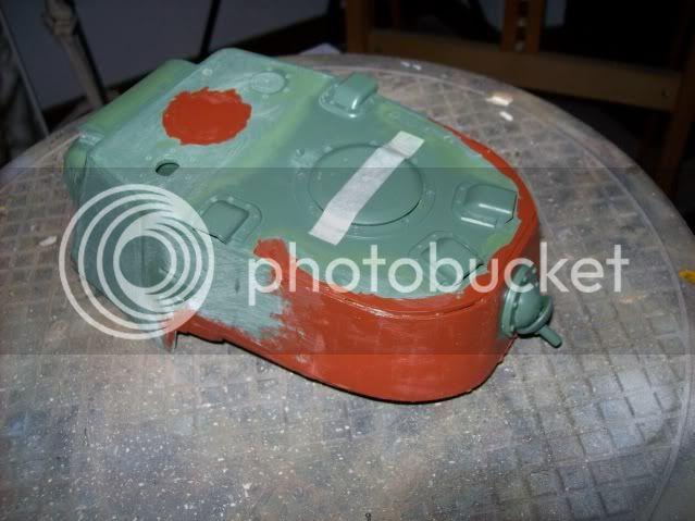 Prototipare una torretta KV1 - 1C KV11B014
