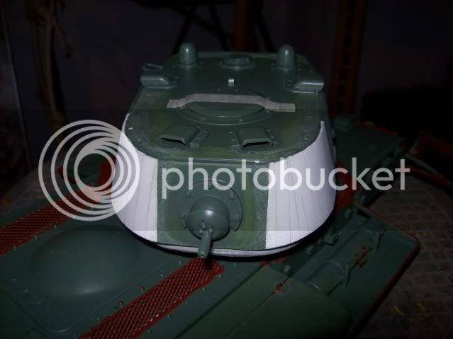 Prototipare una torretta KV1 - 1C KV11B015
