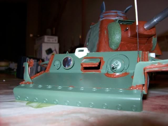 Prototipare una torretta KV1 - 1C KV11B020-2