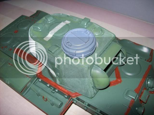 Prototipare una torretta KV1 - 1C KV11B020