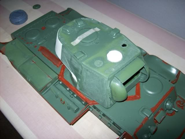 Prototipare una torretta KV1 - 1C KV11B023