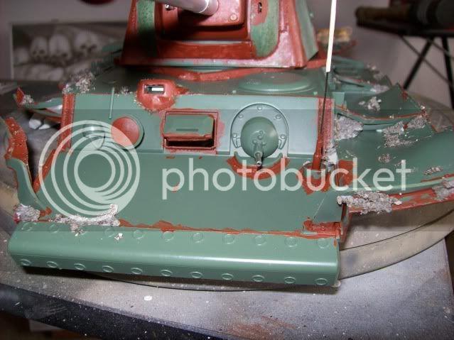 Prototipare una torretta KV1 - 1C KV11B027-1