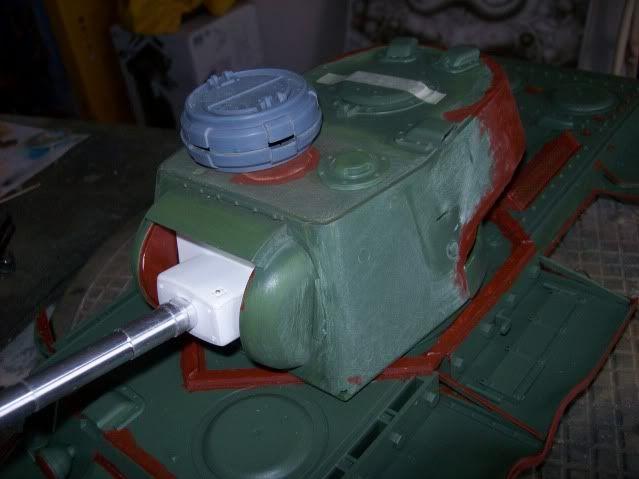 Prototipare una torretta KV1 - 1C KV11B027