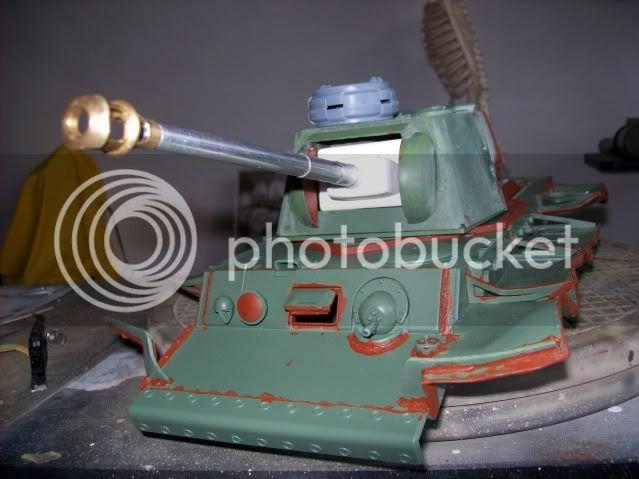 Prototipare una torretta KV1 - 1C KV11B028-1
